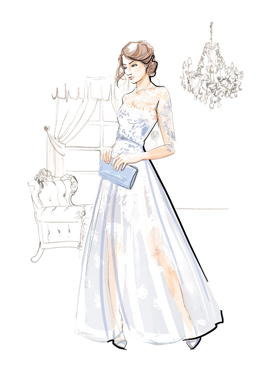 Fashion Illustration   Watercolour   London based illustrator Willa Gebbie