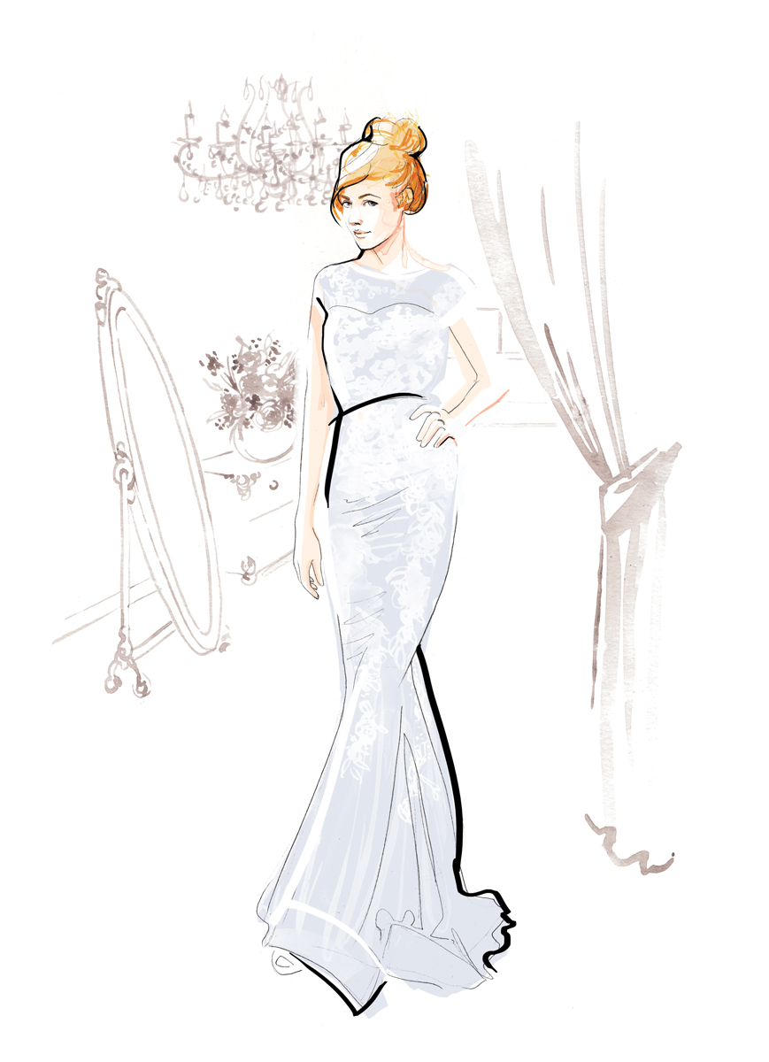 Fashion Illustration | Watercolour | London based illustrator Willa Gebbie