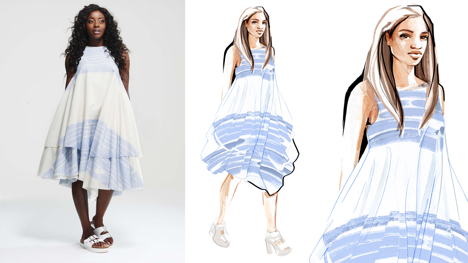 Kelly Shaw - Fashion Illustrations by Willa Gebbie