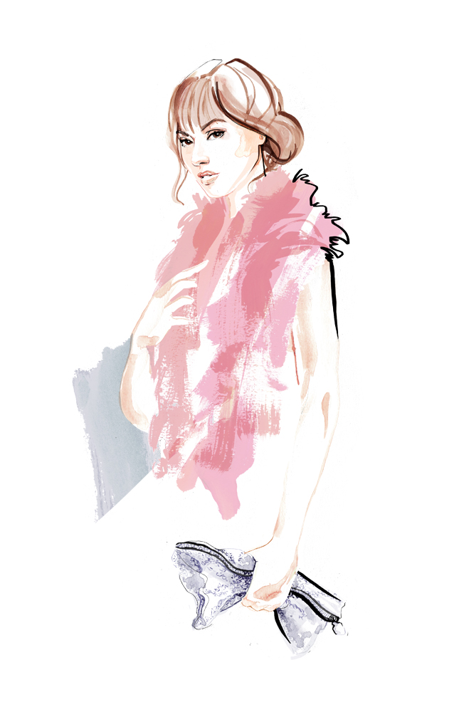 Florence Bridge Fashion Illustration ss16