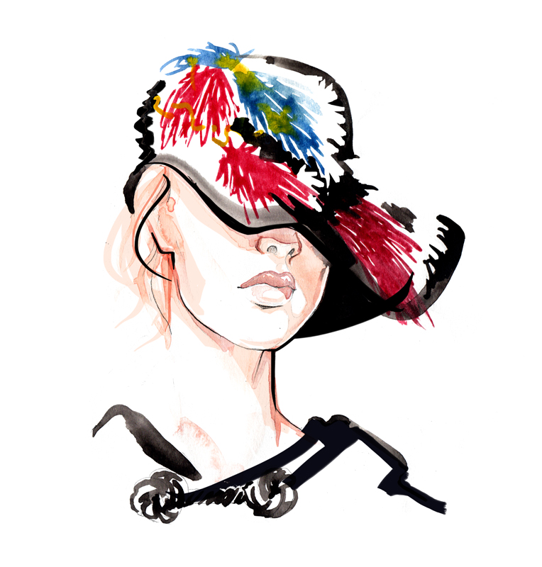 Lanvin aw15 Accessories - Fashion Illustration