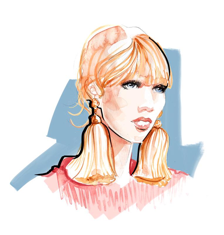 Lanvin aw15 Accessories - Fashion Illustration
