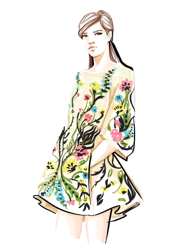 Andrew GN aw15 - Fashion Illustration