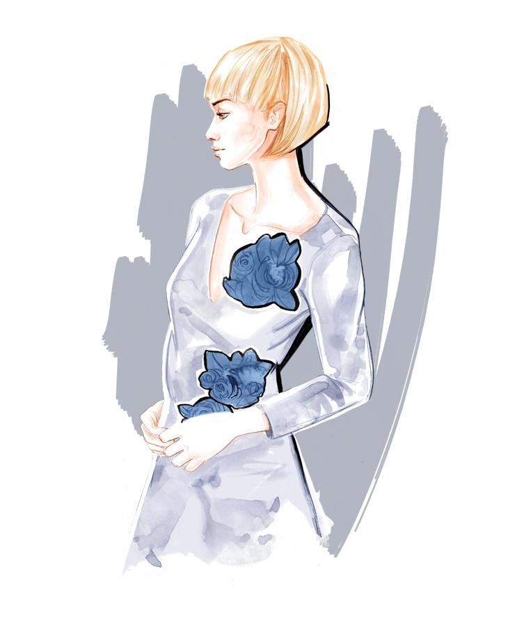 s/s 2016 bySun - Fashion Illustration by Willa Gebbie