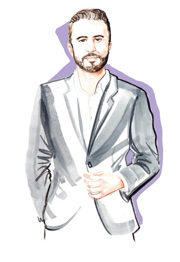 Watercolour Fashion Portrait illustration by Willa Gebbie
