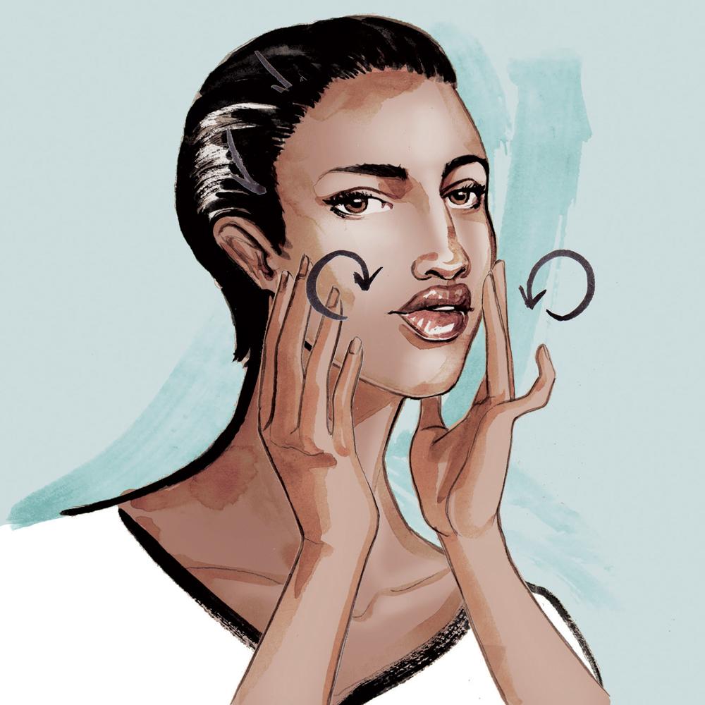 Beauty & Fashion Illustrations for Stylist magazine by Willa Gebbie