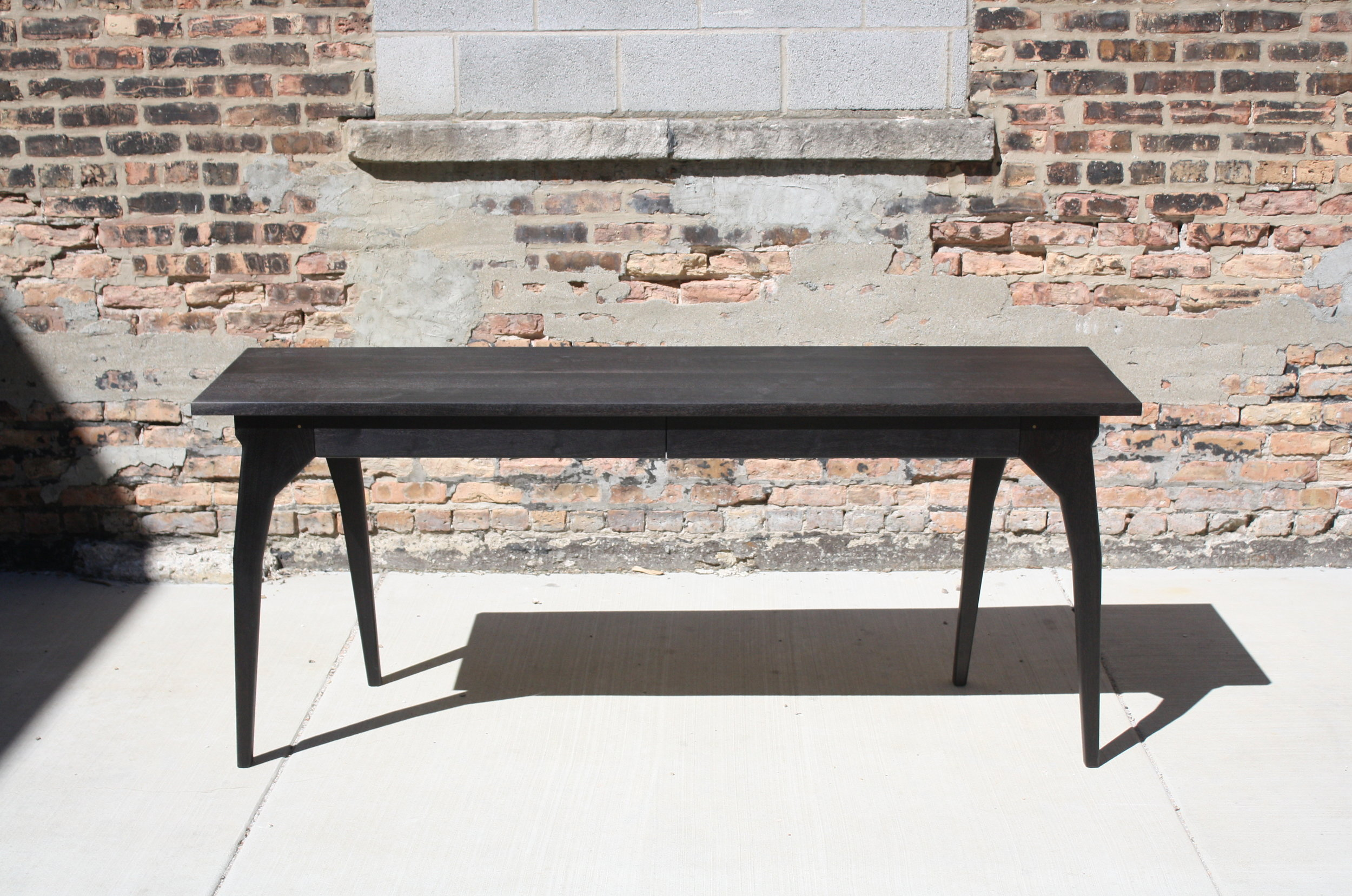 WALKING   Two Drawer Desk Or Console Table