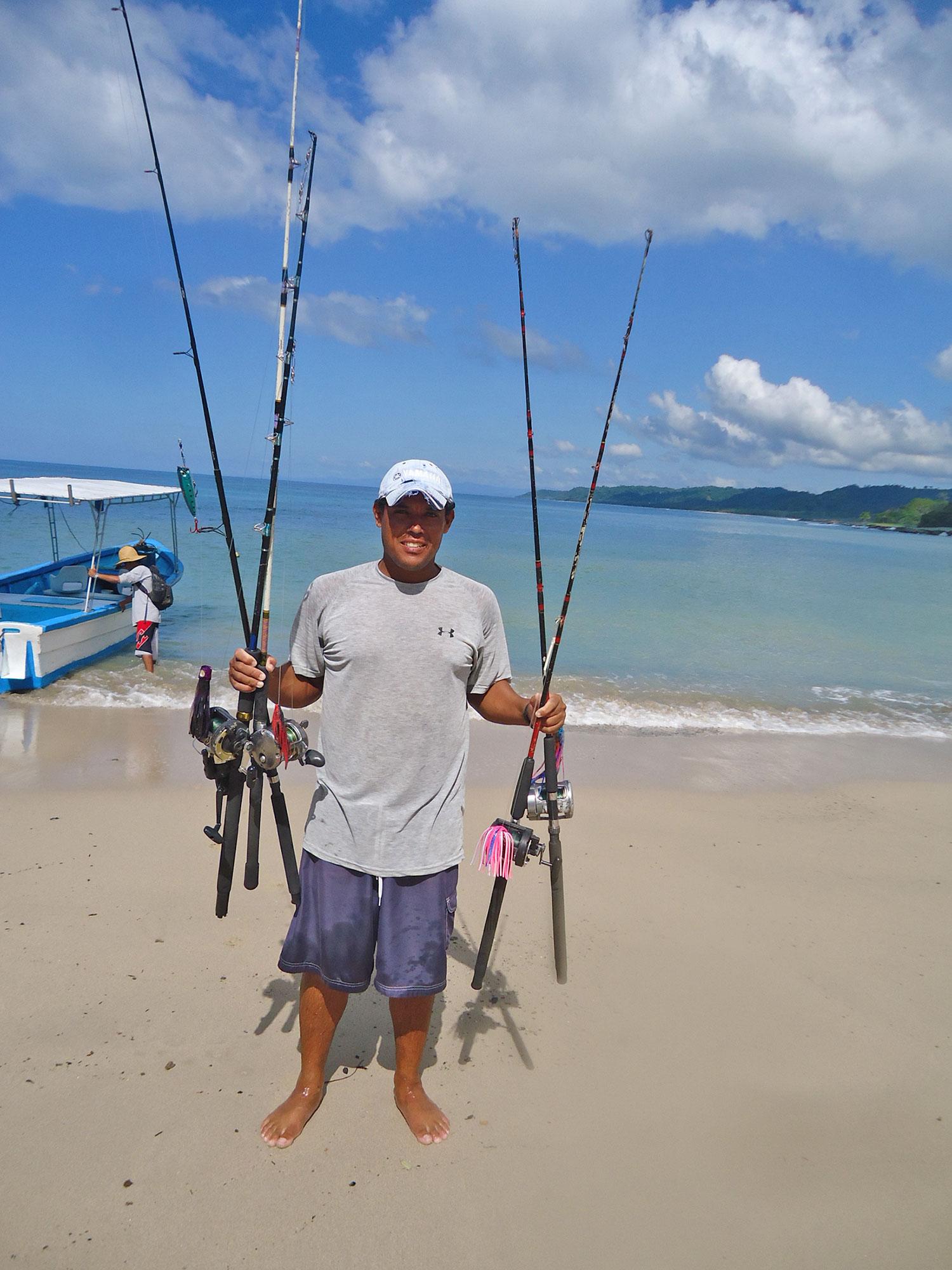 Getting the Fishing Gear Ready