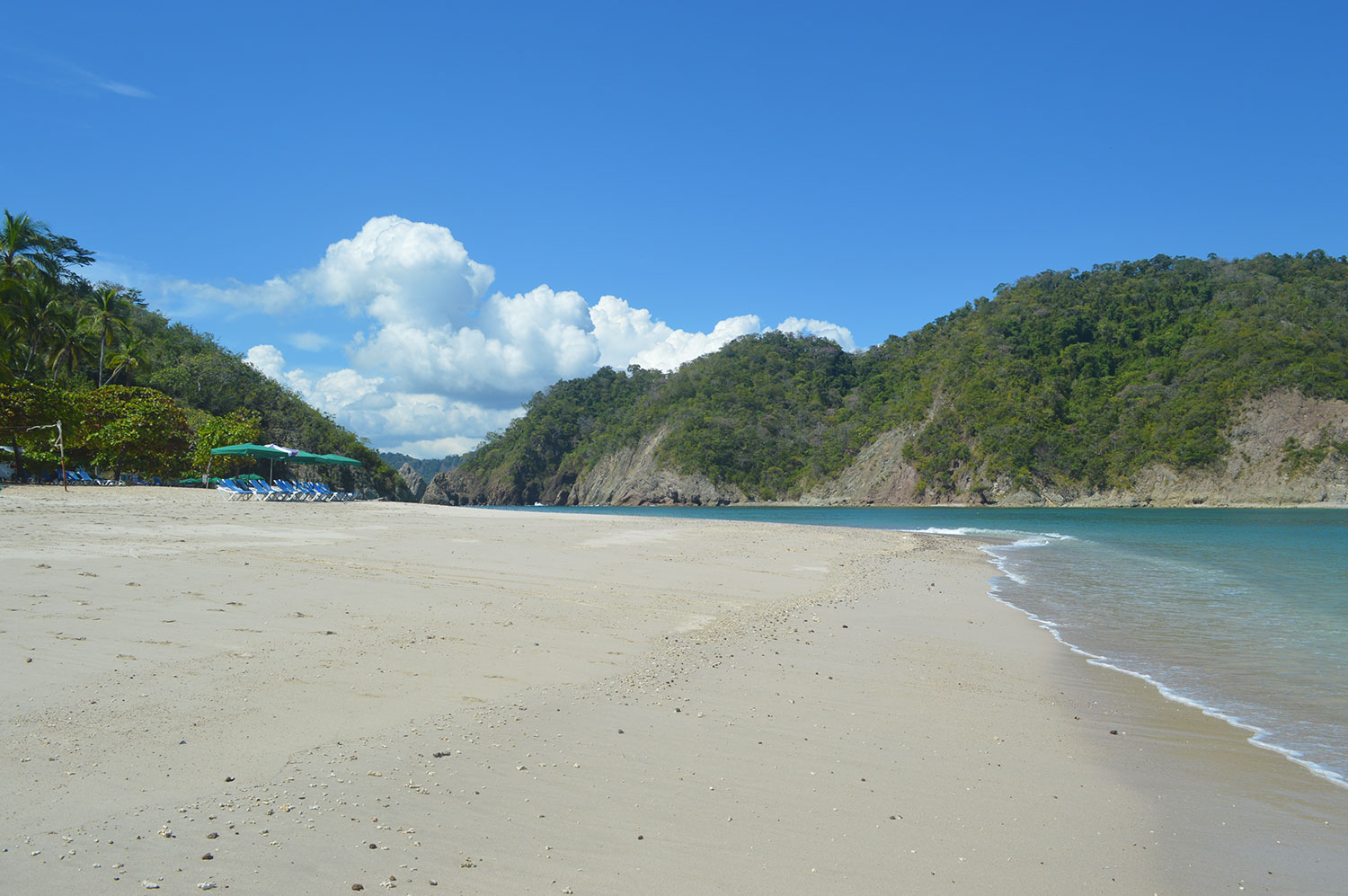 We did say white sand and turquoise water... ; )