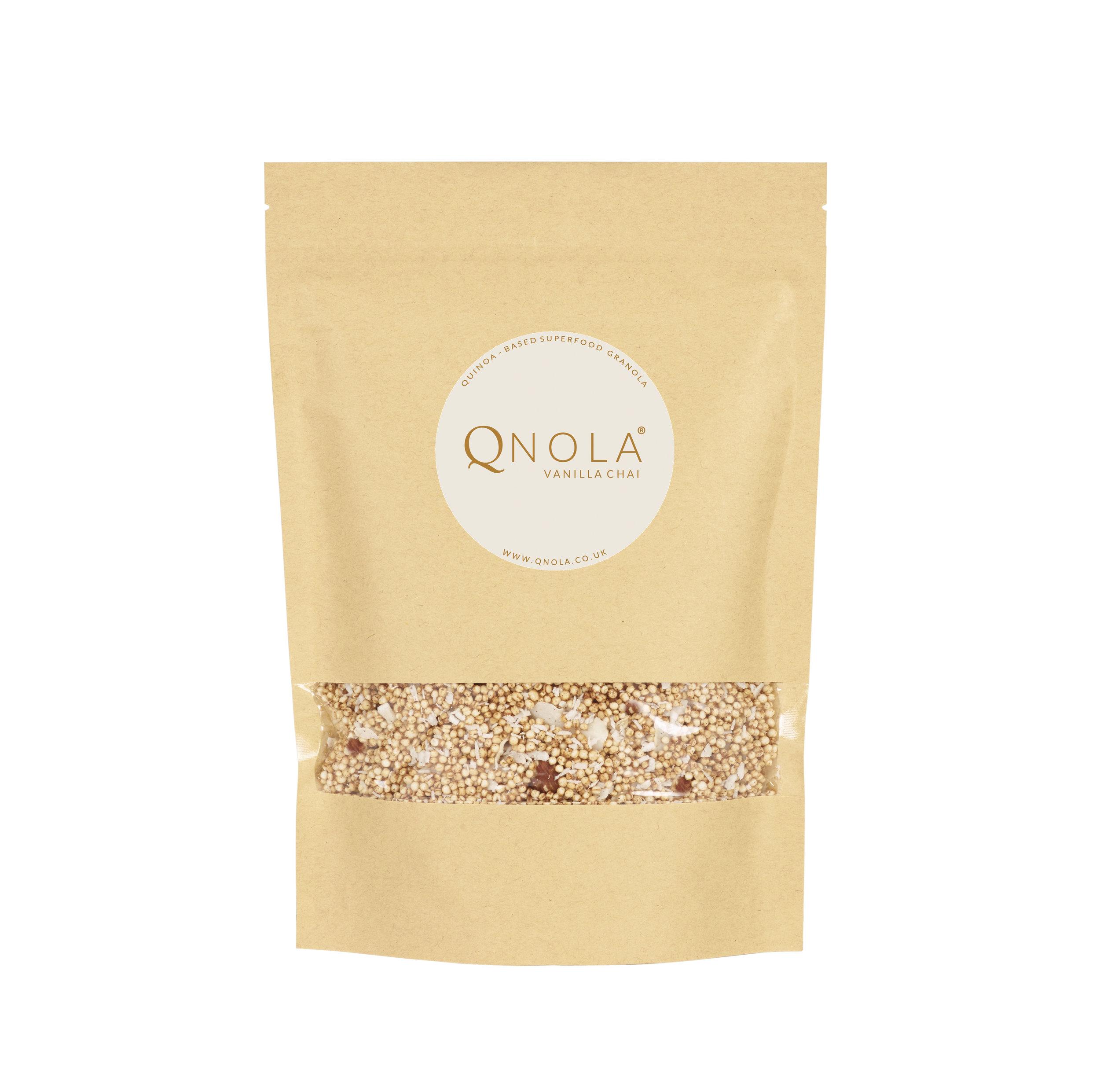 Vanilla Chai Qnola Quinoa Granola