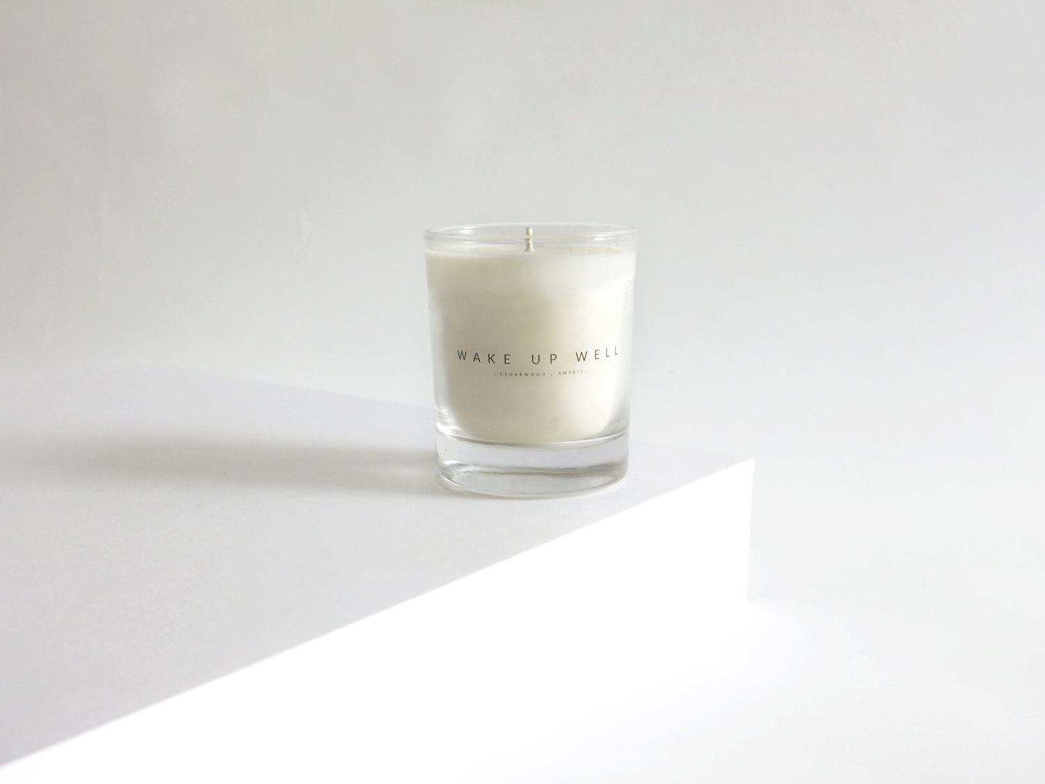 Copy of Wake Up Well Candle