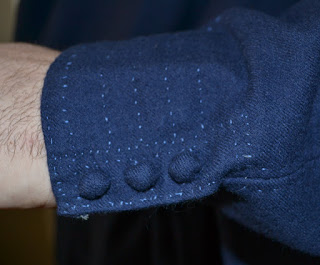 My interpretation of the stitched decoration at the wrist.
