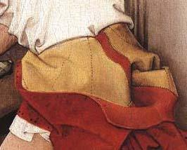 Detail ofSt. John Altarpiece by Rogier Van der Weyden, 1455.