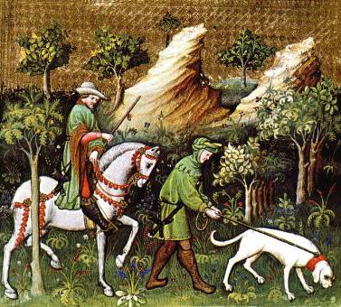 The Hunting Book of Gaston Phebus , pg 37.