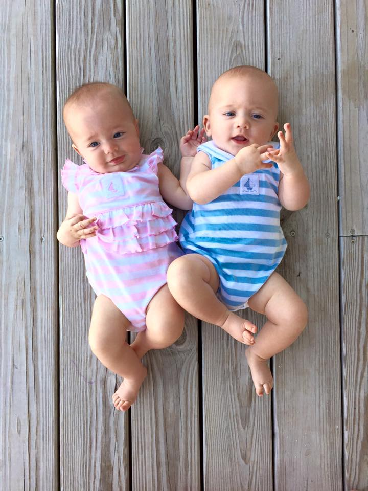 twins on deck at beach.jpg