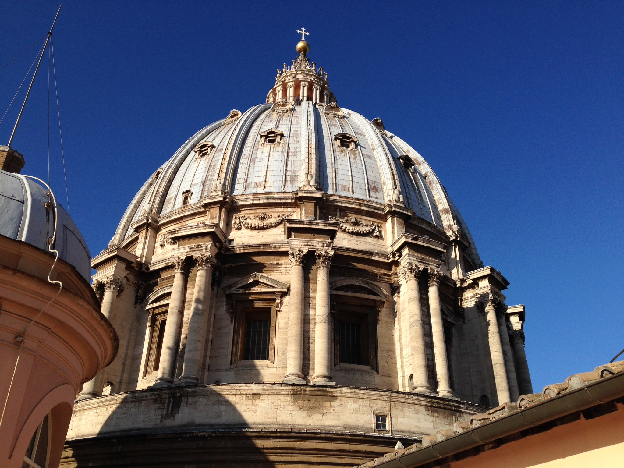 St. Peter's Basilica Dome, taken from the roof (near the gift shop)
