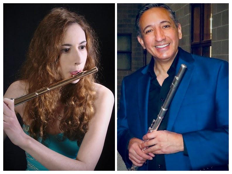 Flute Camp 2019 - Teachers: Minta White, Gonzalo Cortes