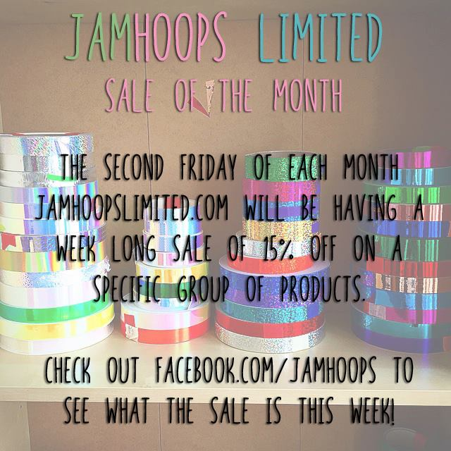December 11th through December save 15% on reflective hoops with the code REFLECT at checkout!