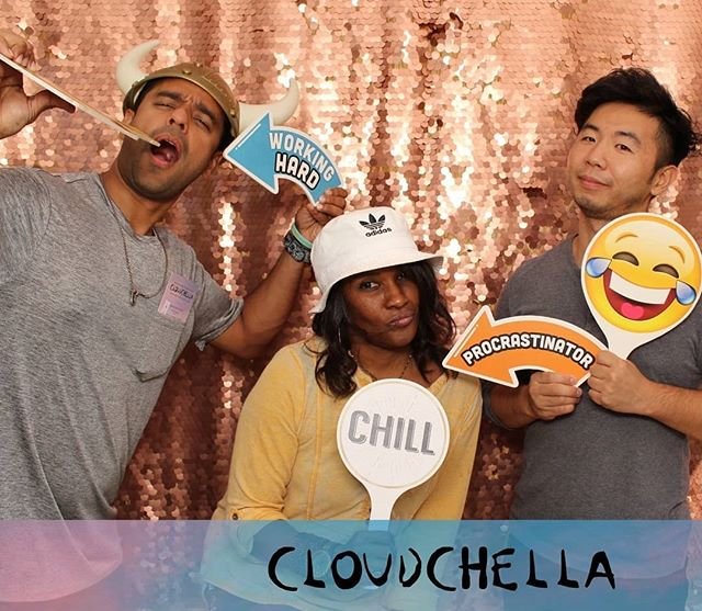 Cloudchella, baby! #fridayafternoon #thingswedoforfun #google #cloudchella
