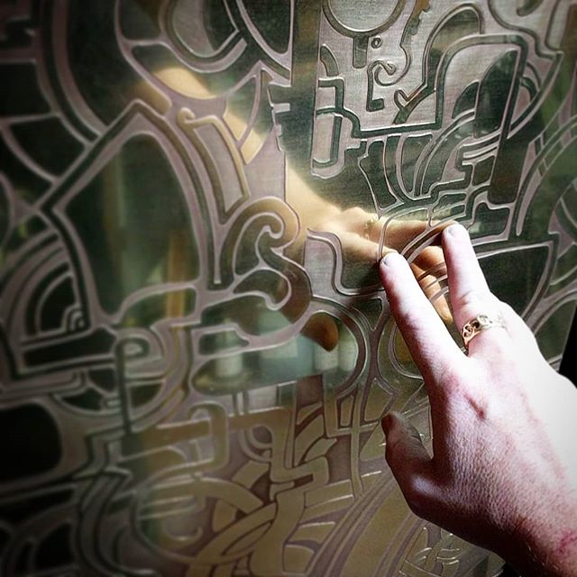 New work in progress  #thefuture #brass #nicholasknudson  #nicholasknudsonart