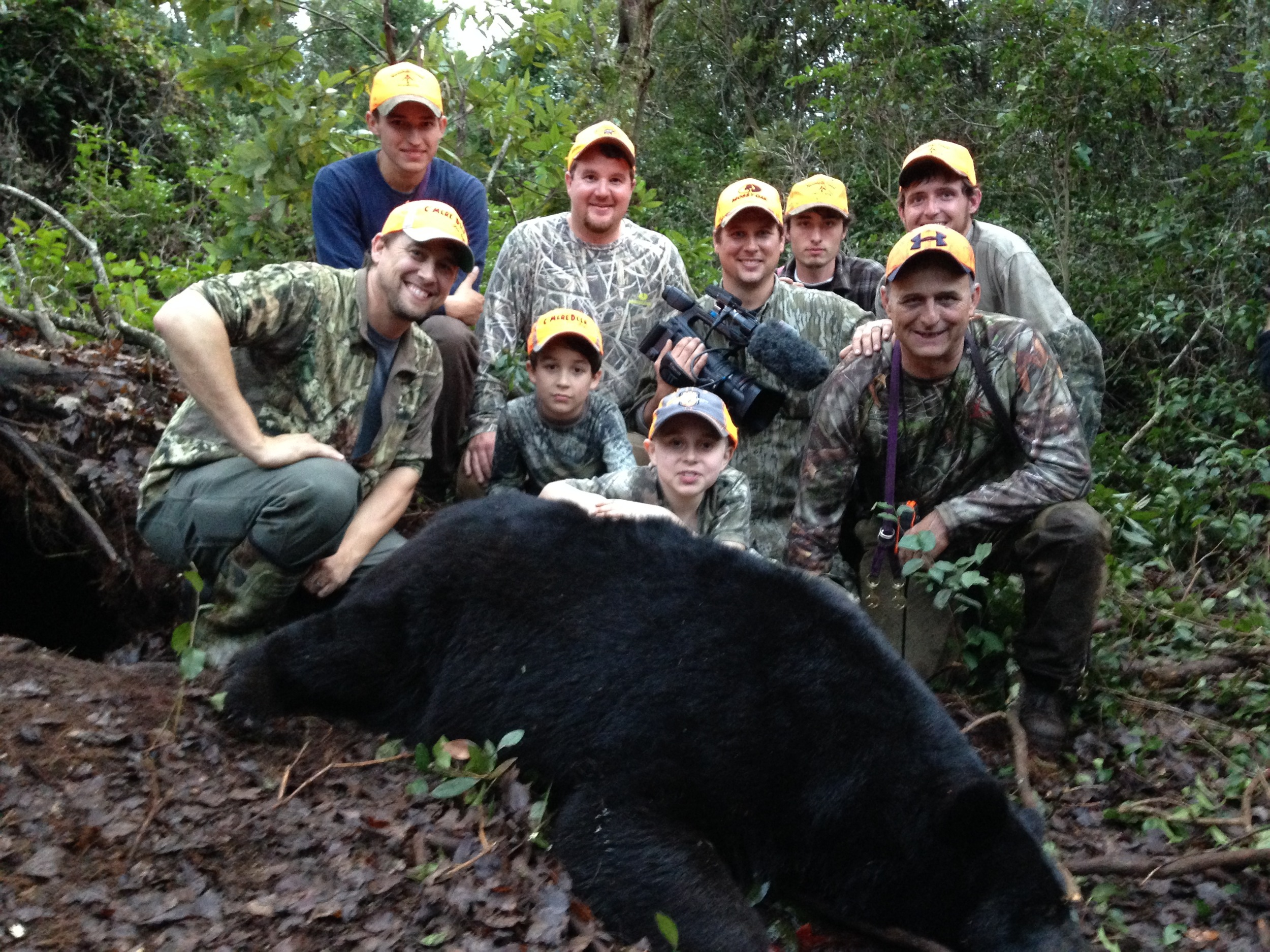 Braedan and his Black Bear hunt with a Great group of guys that were involved.
