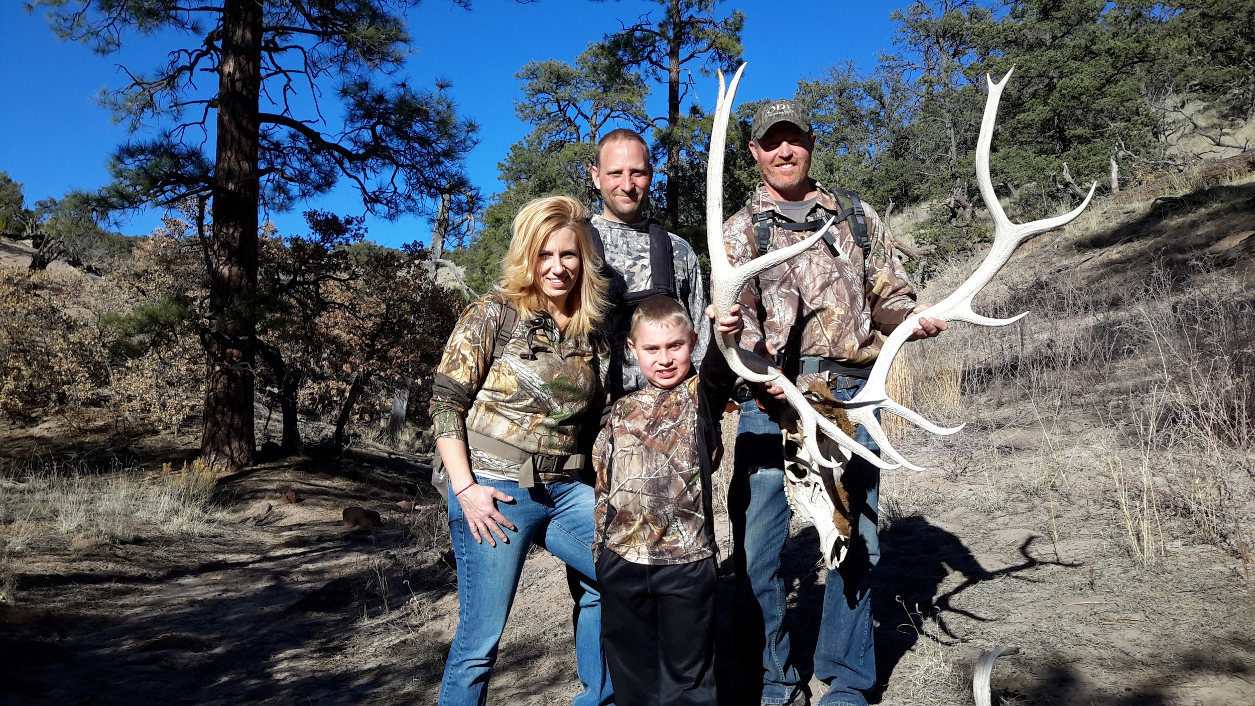 In New Mexico hunting Mountain Lion with Eric Kern on the Montosa Racnh. Along the way, finding this great tresure.