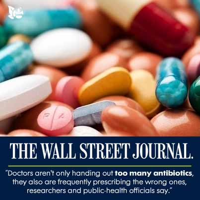 """""""Antibiotics Do's and Don'ts"""" August 20, 2013, Wall Street Journal"""