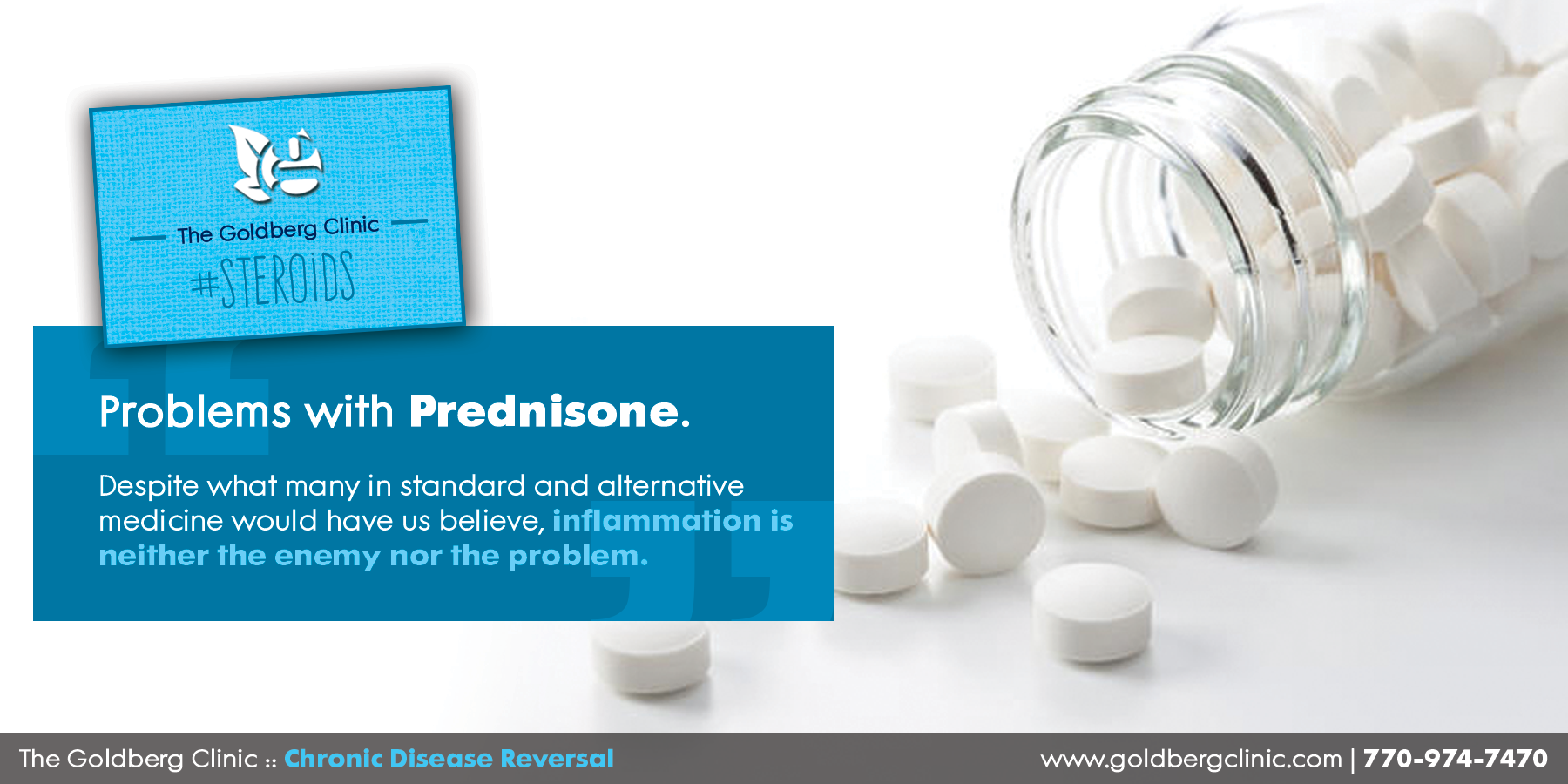 Problems with Prednisone — The Goldberg Clinic for Chronic