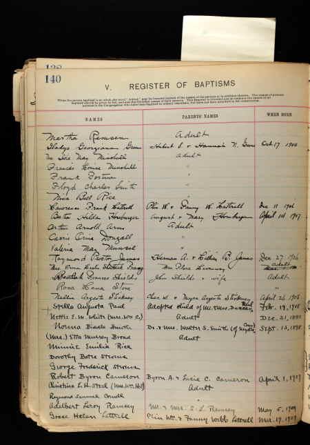 Jean Arthurs baptism record.jpg