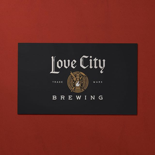 The Main Mark for our Main dudes designed here at @truehandsociety for our @lovecitybrewing .  #truehanddesign . #truehand #jessiejaydesign #jessiejay#jessiejaydesign #designedbyjessiejay#typography #phl #philly #philadelphia#branding #illustrator #typelockup
