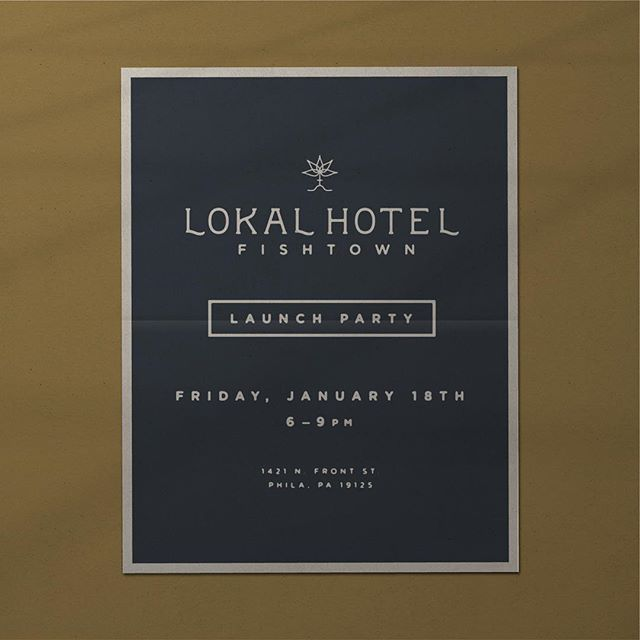 "Join us tomorrow nite as we celebrate the launch of @stay_lokal #fishtown ... our first endeavor into interior design at @truehandsociety . Come see how we curated close to 30 lokal makers to make this 6 unit boutique ""invisible service"" hotel truly one of a kind, and hyper local by design. Flyer by: @vicsteinman . . #truehand #truehanddesign #truehandsociety #interiors #scandanavian #lokalhotel #fishtown #philadelphia #igersphilly #localmakers"
