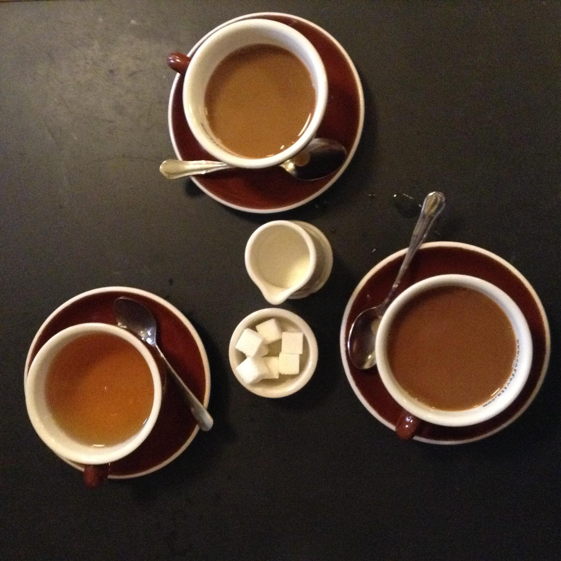 Coffee and tea at Le Pichet
