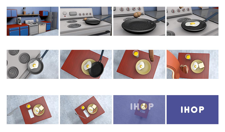 3D animation spec for  IHOP