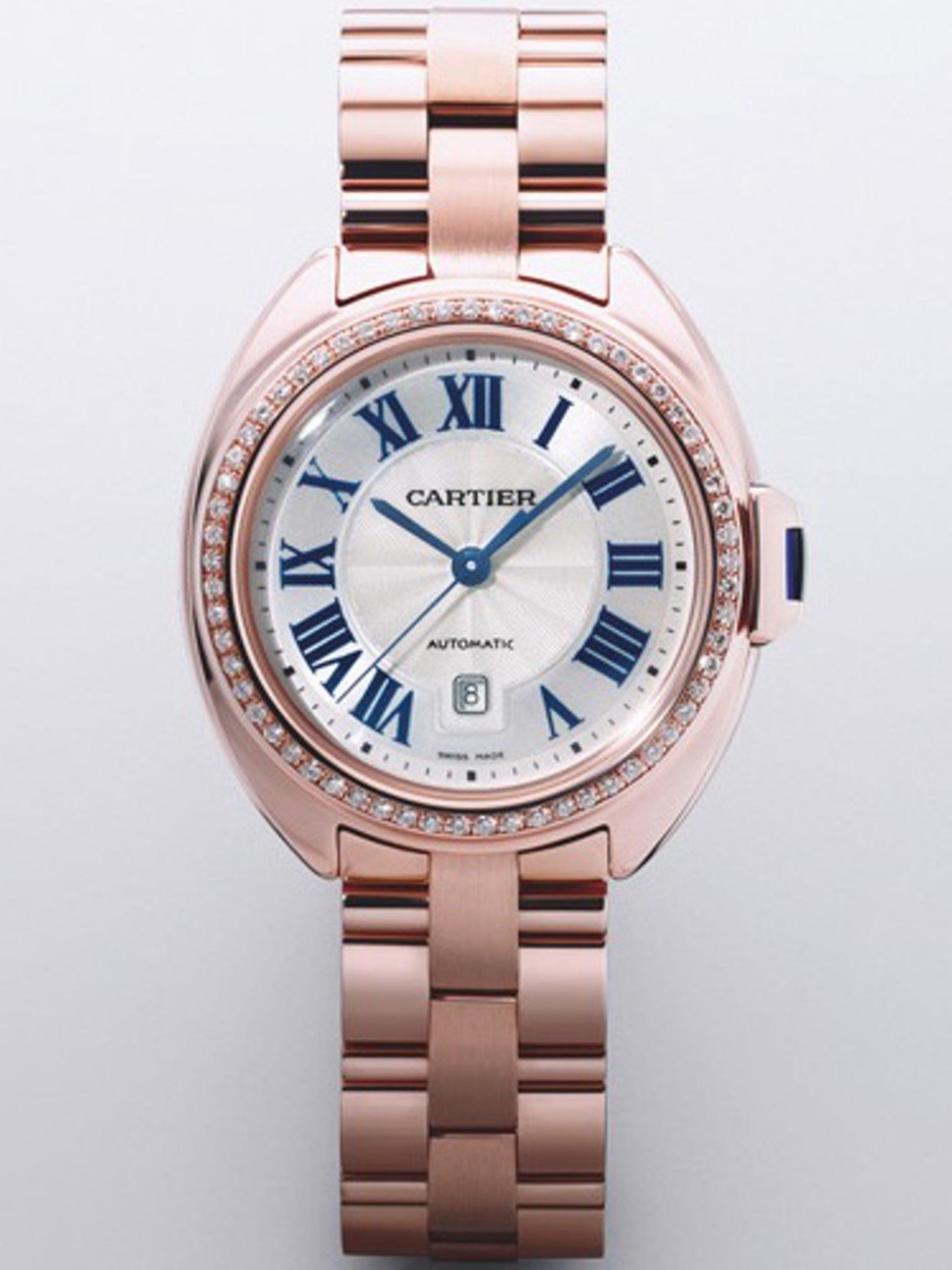 Joalheria Sara - Relógio Cartie Cl� de ouro rosa com diamantes alta.jpg