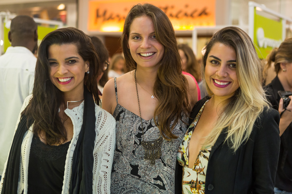 Giselly Allure, Mileni Bender e Daniela Alves