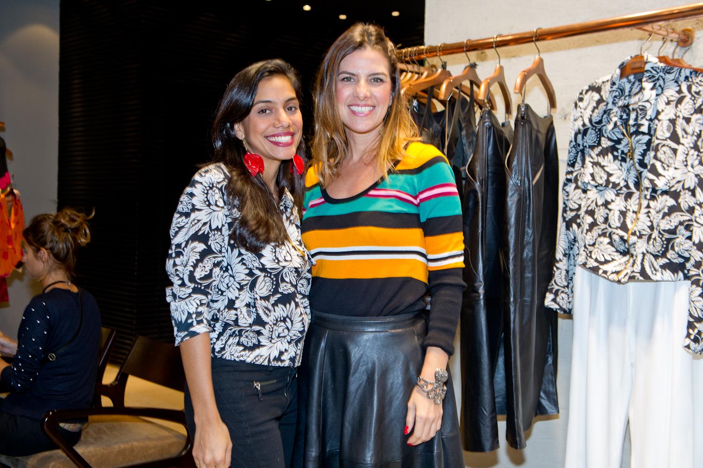 Simone Dias e Larissa Tavares