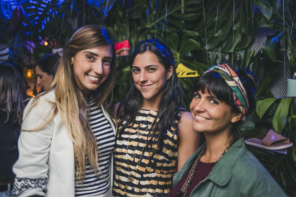 Eu, Olivia Nolasco e Jada Novaes