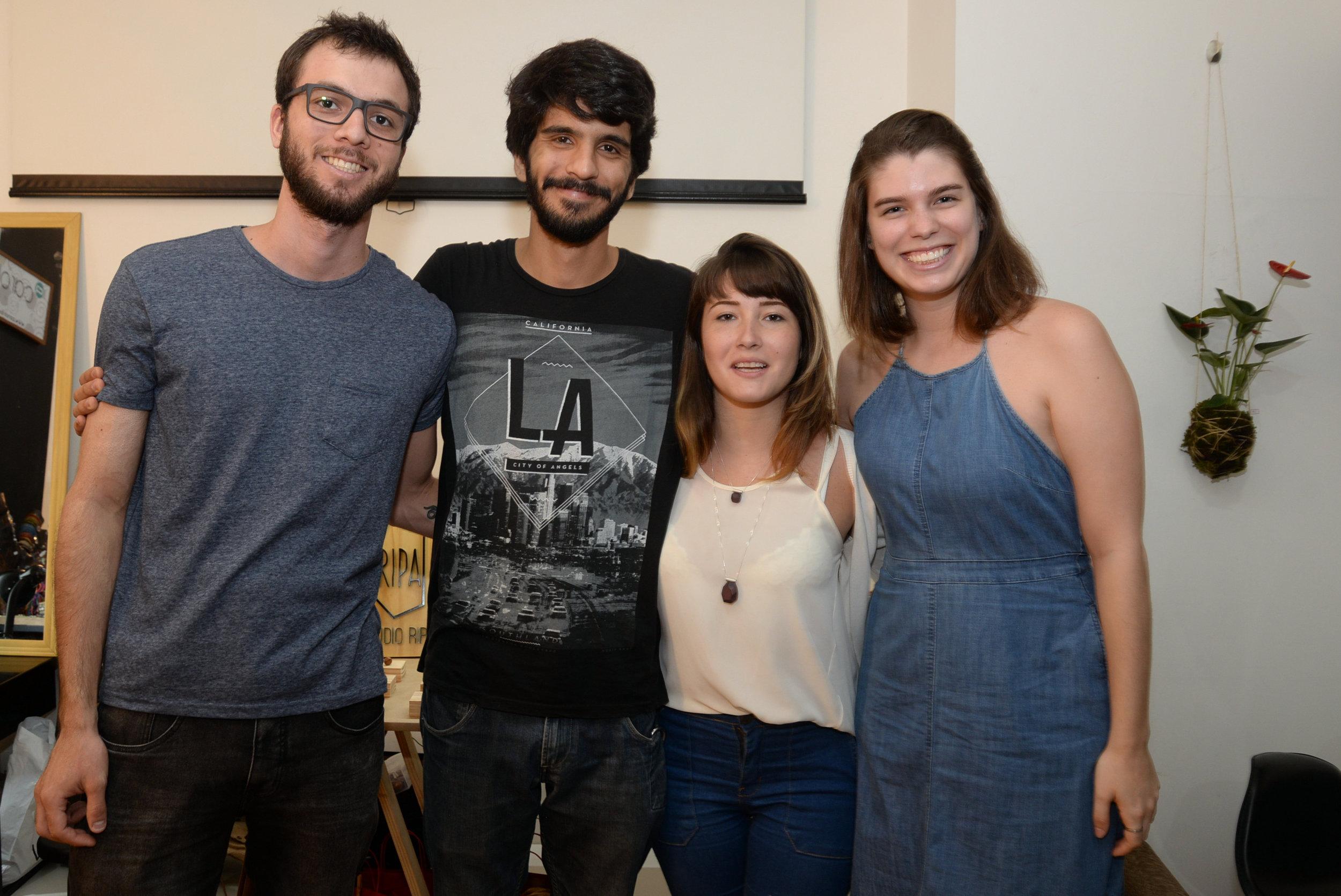 Leandro Oriente, Maire Ramazzina, Luiza Breier e Gabriela Real.JPG