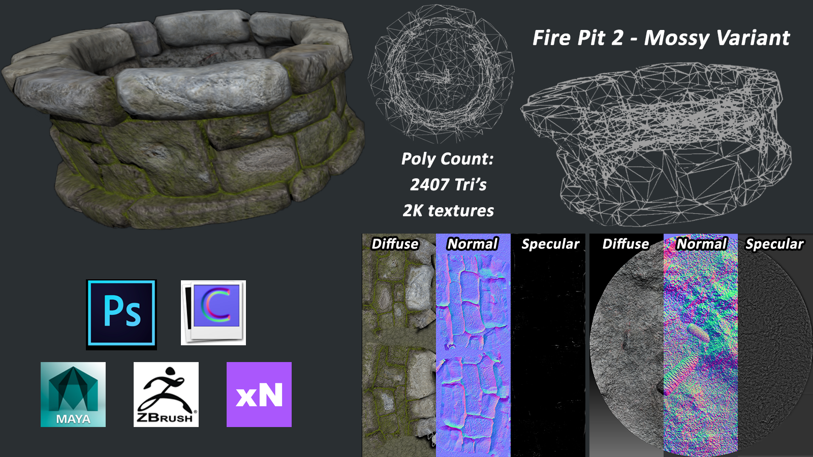 Fire Pit 2: Mossy