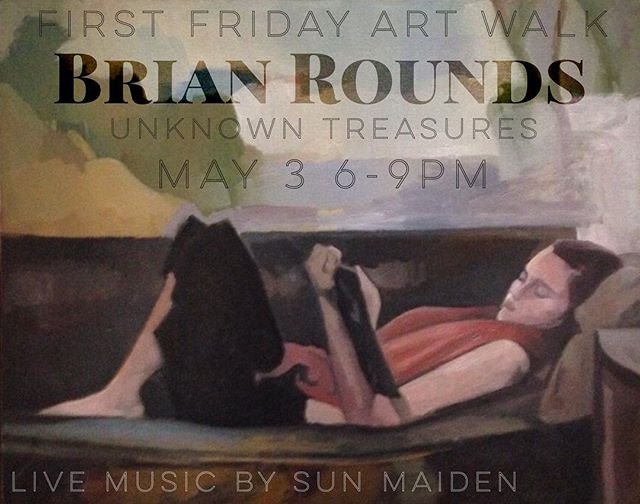 Join us on Friday, May 3 from 6-9pm for the Boulder Creek First Friday Art Walk featuring the work of Santa Cruz artist Brian Rounds. Live music will be provided by Sun Maiden.