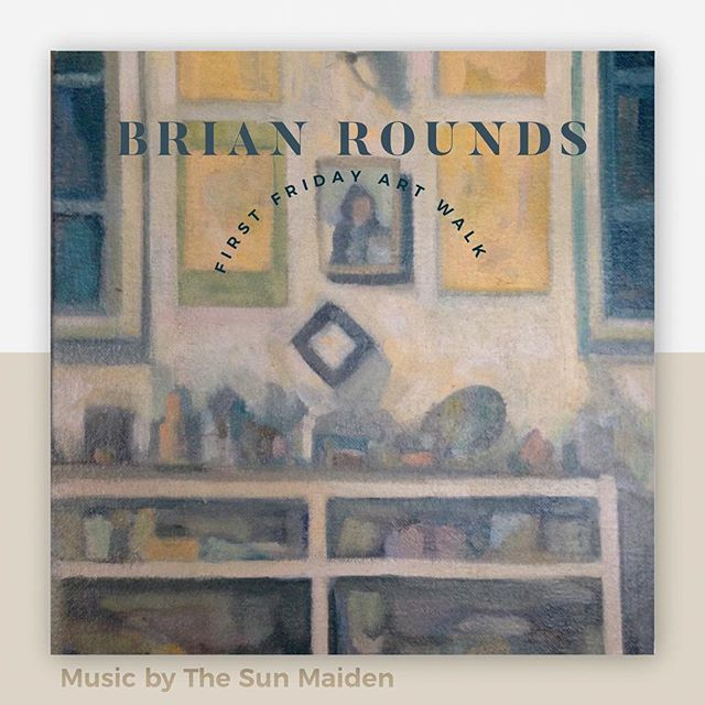 Join us tonight from 6-9pm for Boulder Creek's First Friday Art Walk featuring new work by local artist Brian Rounds. Live music by @the.sun.maiden