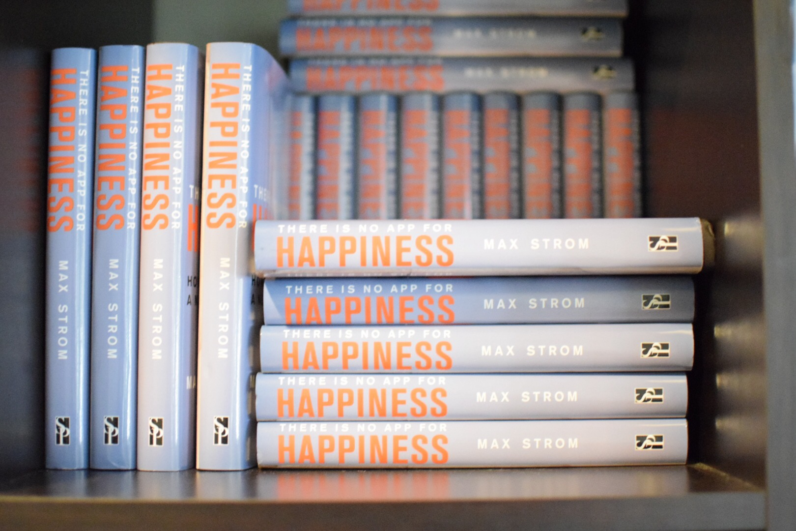 There Is No App For Happiness  by Max Strom is available at Inner Bliss Yoga Studio, $22.95