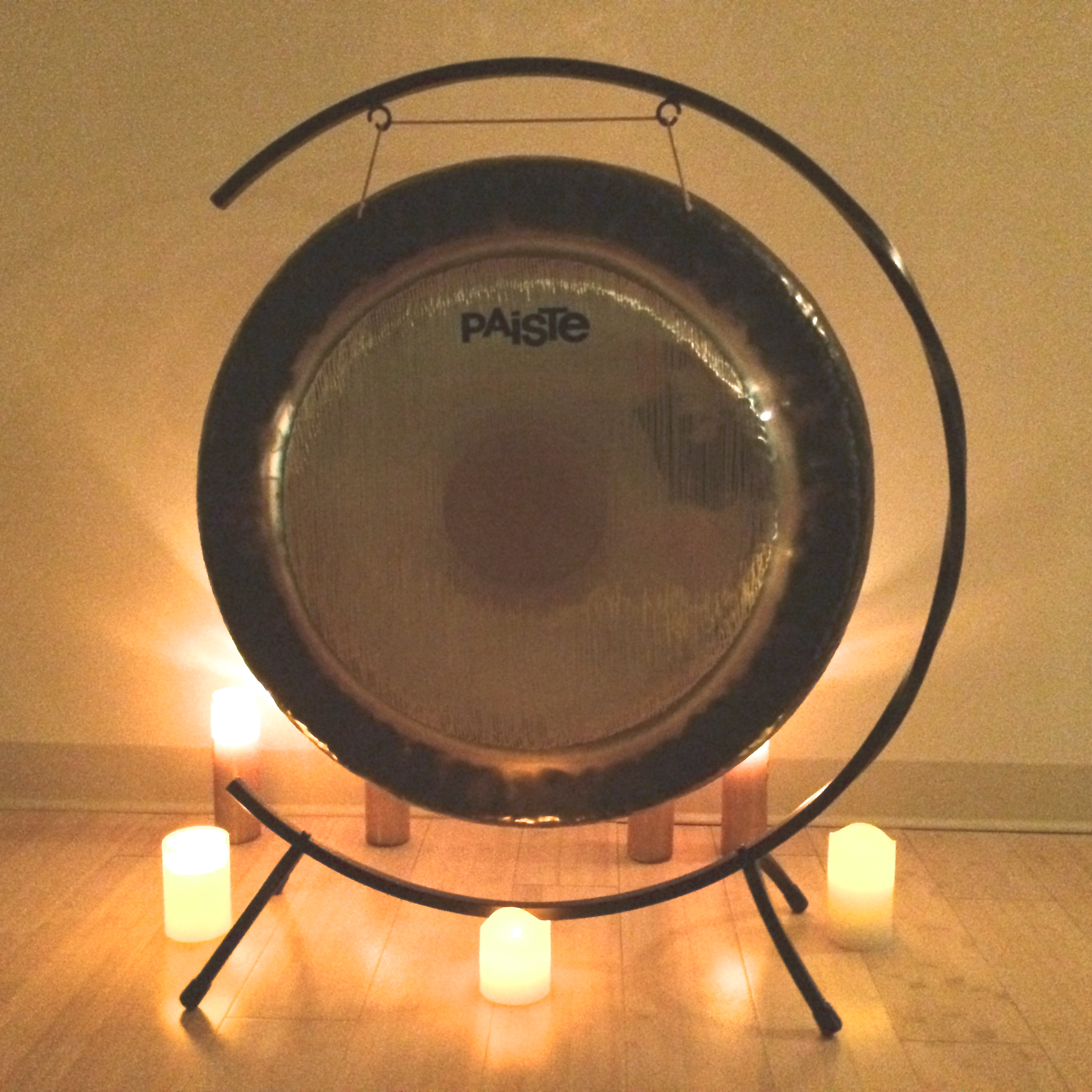 The sound of the Gong creates deep relaxation