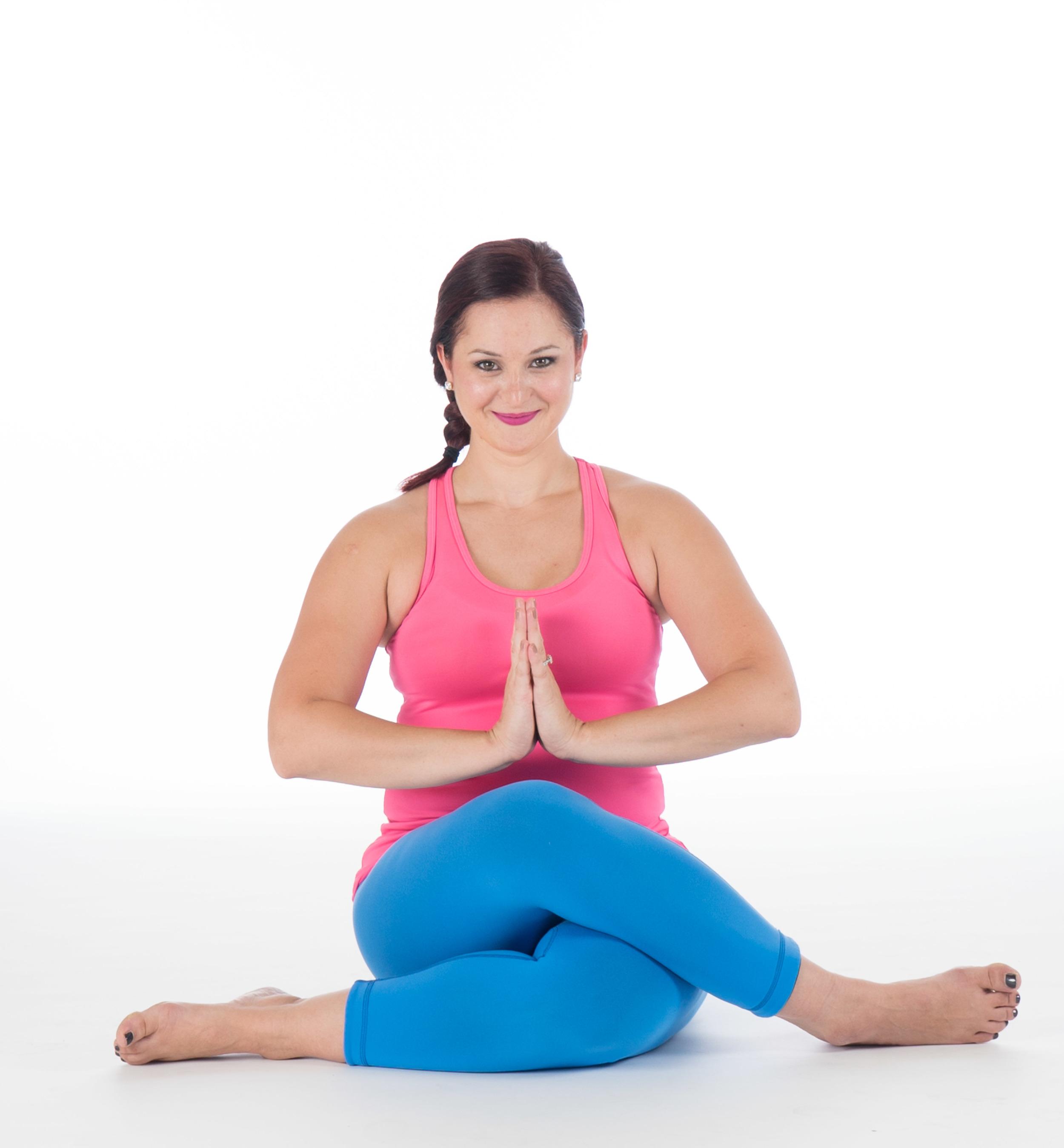 Yoga teacher Debi Darnell LOVES beginners