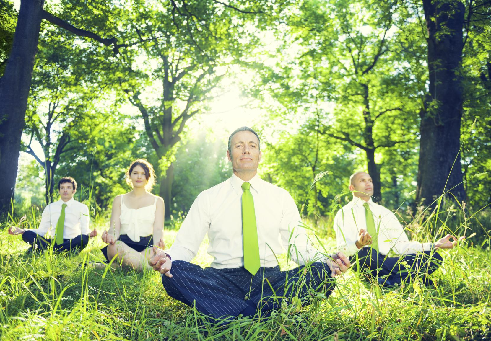 Yoga creates leaders.