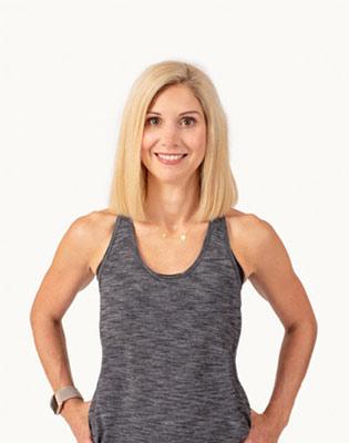 Chair Yoga Teacher Courtney Berg