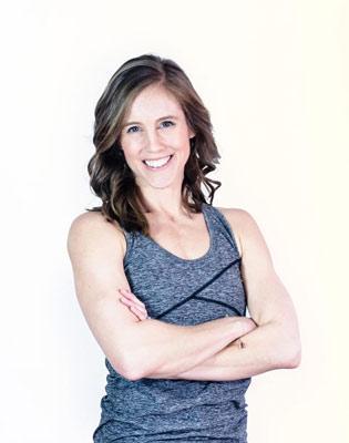 Chair Yoga teacher Abbey Spiro