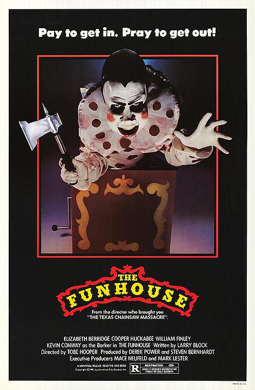"""For lovers of carnivals, it doesn't get much better than """"The Funhouse."""""""