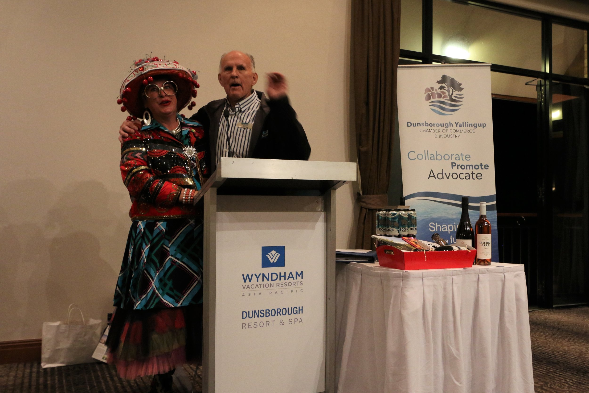 Wyndham Resort, Dunsborough Yallingup Chamber of Commerce combined Business After Hours