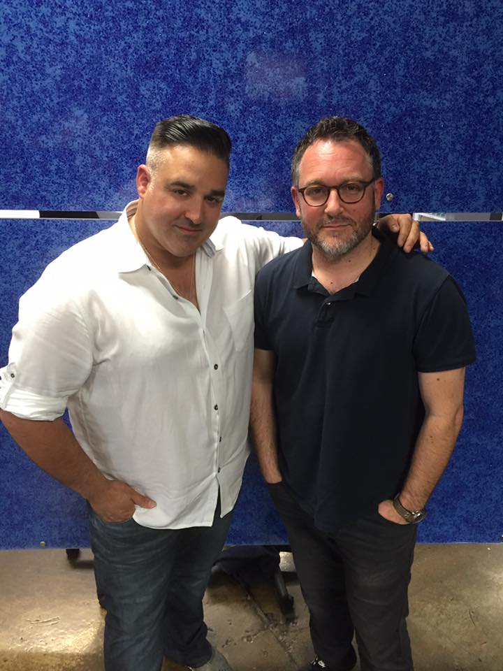 Colin Trevorrow came to Justin for a haircut while he was in town directing Star Wars: Episode IX, the final film of the Star Wars sequel trilogy. He also directed The Book of Henry and Jurassic World.